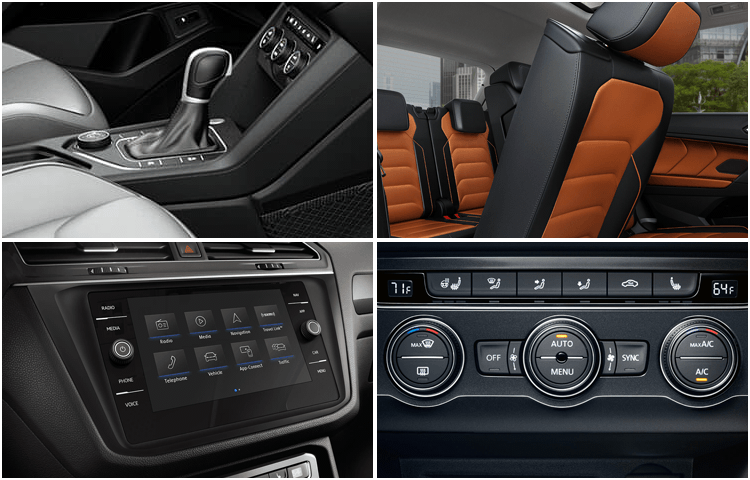 New 2019 Volkswagen Tiguan Interior Design