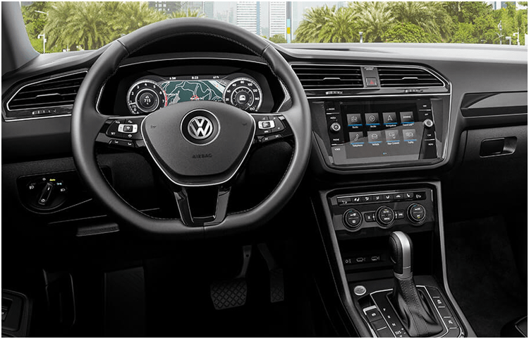 2019 VW Tiguan Interior Styling