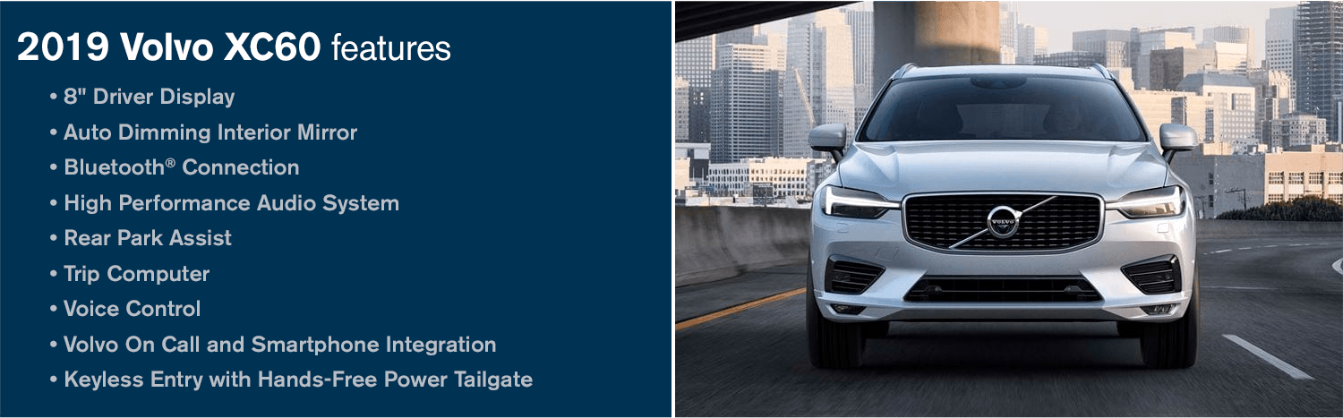 The Award-Winning 2019 Volvo XC60 Midsize SUV | On Sale in