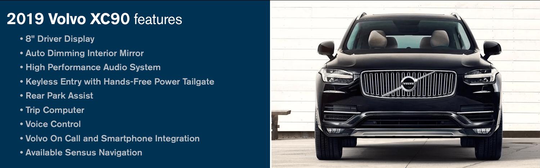 2019 Volvo XC90 Three-Row SUV | Size meets Safety in Phoenix, AZ