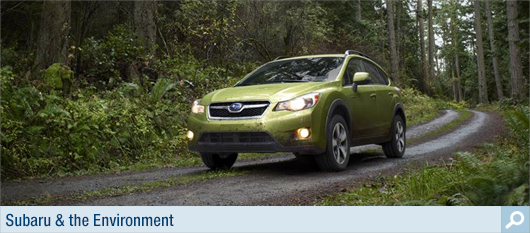Subaru & The Environment at Carter Subaru Ballard