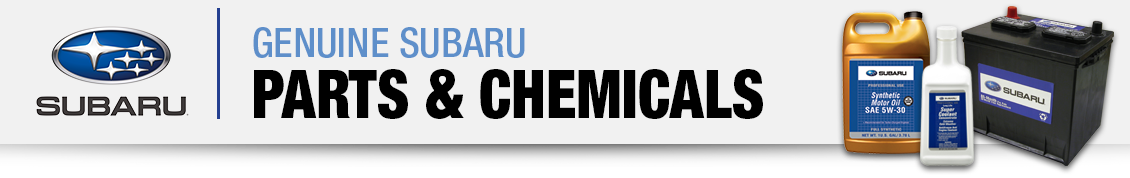 Genuine Subaru Parts & Chemicals Information in Columbus, OH