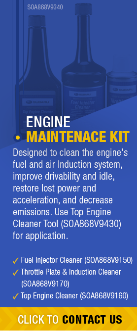 Learn About Genuine Subaru Engine Maintenance Kit available near Olympia, WA