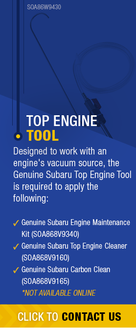 Learn About Genuine Subaru Top Engine Tool available near Olympia, WA