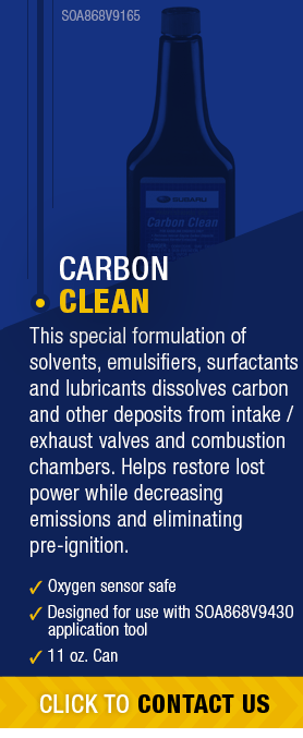 Learn About Genuine Subaru Carbon Clean available near Olympia, WA