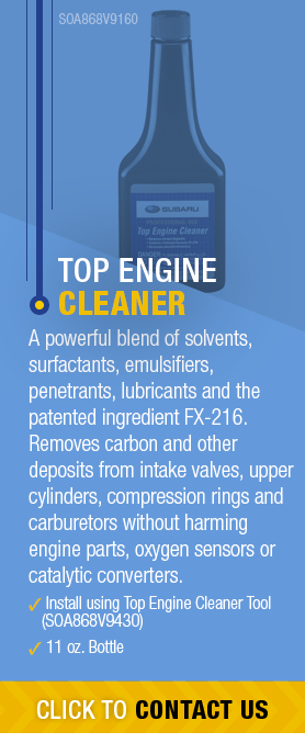 Learn About Genuine Subaru Top Engine Cleaner available near Olympia, WA