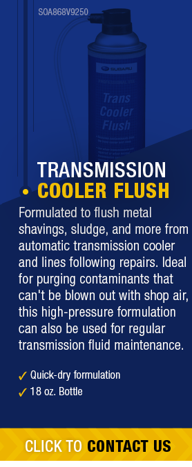 Transmission Cooler Flush