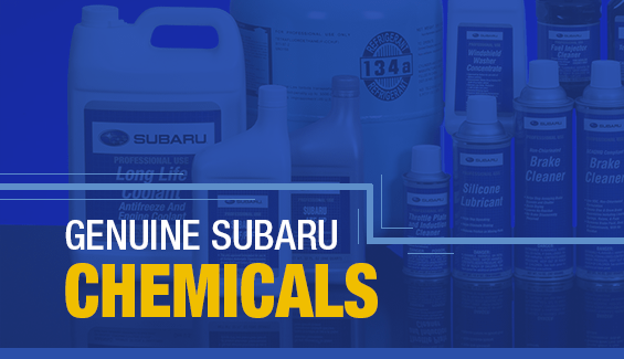 Learn About Genuine Subaru Chemicals available near Olympia, WA