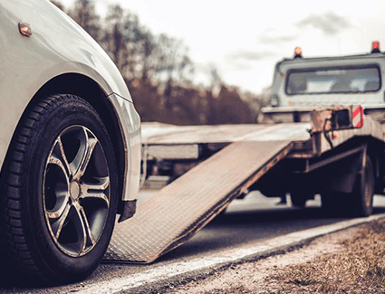When you've been in an accident, it's smart to have your vehicle towed to the experts at an authorized Audi service center