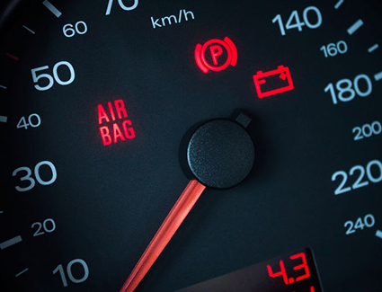 Find out why your airbag light is on