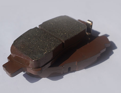 Brake Pad Close-Up