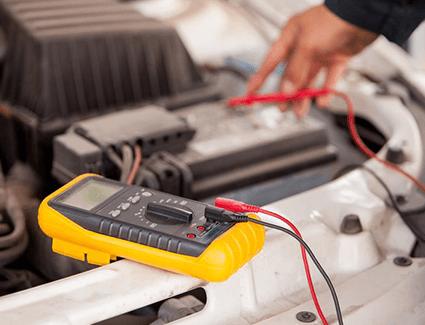 Multimeter Battery Test
