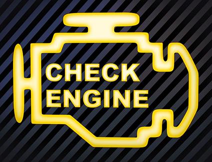 Check Engine Light Graphic