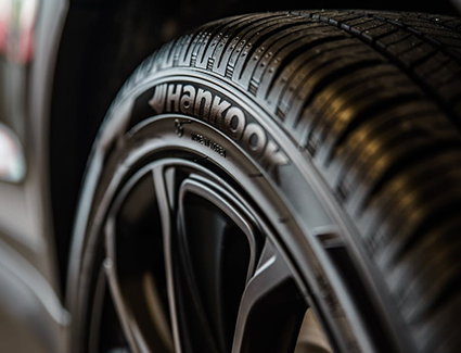 Wheel And Tire Close-Up
