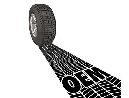 OEM Tire Tread Illustration