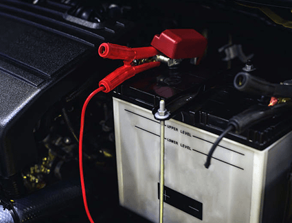 Know how to safely jump start your vehicle in an emergency!
