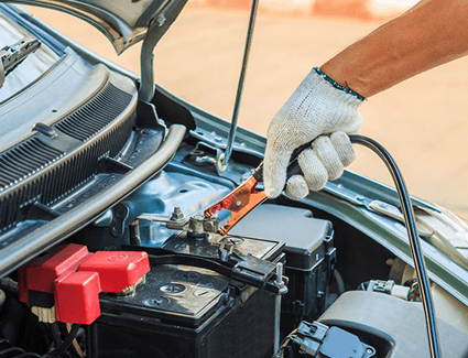 Learn about the possible dangers associated with jump starting your car!