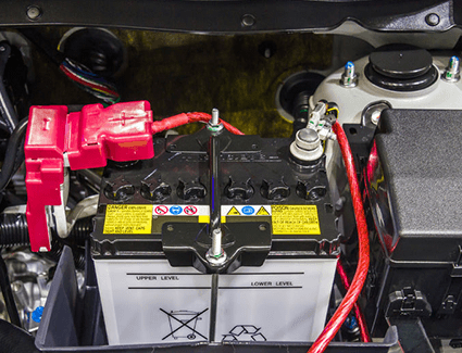 Learn how to check your battery fluid levels.