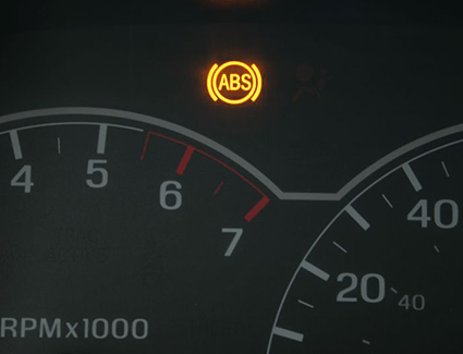 If the electronic systems associated with your brakes develop a problem, you may see a new warning light in the dashboard