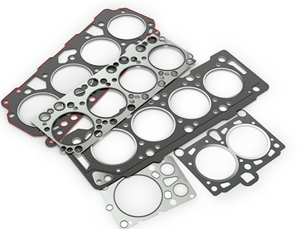 Head gaskets like these form a perfect seal between the engine block and the cylinder head, and they're more important than they might look