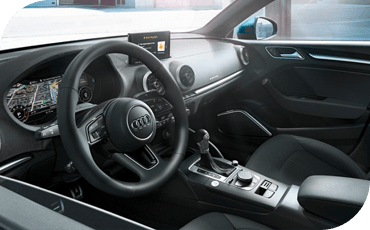With a 5-star overall safety rating from the NHTSA, the 2020 Audi A3 is a small car that gives you big time confidence