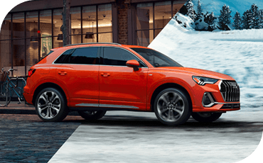 All-Wheel Drive comes standard on the new Audi Q3, so it can handle with confidence on just about any surface, wet or dry