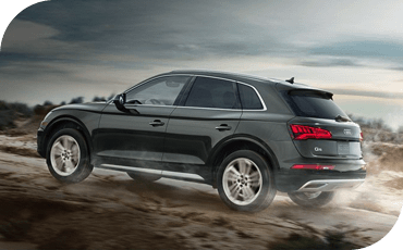 Standard all-wheel drive means the 2020 Audi Q5 is better equipped than lesser luxury crossovers for dirt trails, gravel roads and wet weather