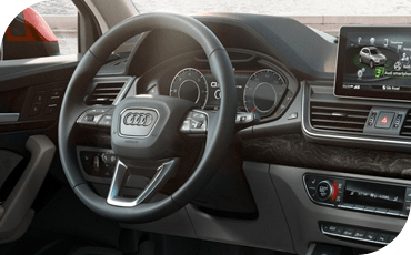 With an MMI® infotainment touch screen and available Auid Virtual Cockpit, the Audi Q5 interior feels truly cutting-edge