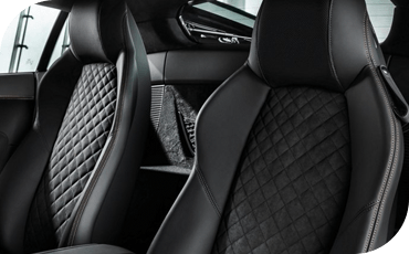 The 2020 Audi R8 also comes with plush comforts like quilted leather seats