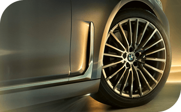 BMW 7 Series Side Blades