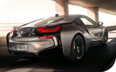 The hybrid drivetrain gives the BMW i8 remarkable power