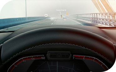 BMW X4 Head Up Display