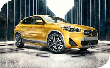 The 2021 BMW X2 boasts a powerful, sporty look