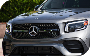 Mercedes-Benz GLB front fascia and grille