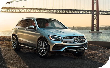 2020 GLC Three-Quarters View
