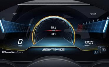 Mercedes-AMG GLE 53 Coupe Dashboard