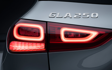 Mercedes-Benz GLA LED Lighting