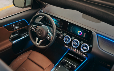 Mercedes-Benz GLA Ambient Lighting