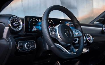 New Mercedes-Benz A-Class Dashboard