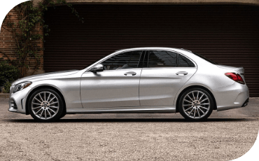 Mercedes-Benz C-Class arrives safely at home