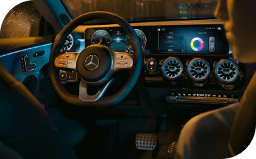 New Mercedes-Benz CLA Coupe Dashboard