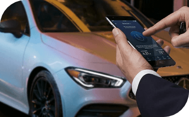 New Mercedes-Benz CLA Coupe Smartphone App