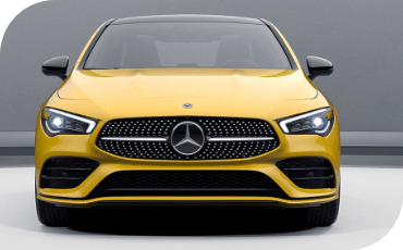 New Mercedes-Benz CLA Coupe Front End