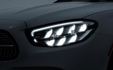 2021 E-Class LED Headlights