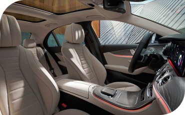 Features in the new E-Class
