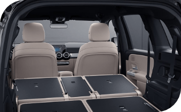 Mercedes-Benz GLB Flat Folded Seats