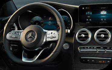 New Mercedes-Benz GLC Gauge Cluster