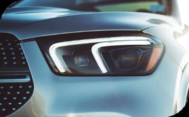 New Mercedes-Benz GLE Daytime Running Light