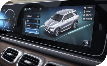 New Mercedes-Benz GLE Driving Modes