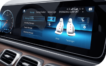 Get available massage functions in the front seats of your GLS